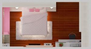 layout interior kamar tidur anak